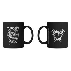 Jurassic Park Deathmetal Mug - Black