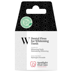 Spotlight Oral Care Dental Floss for Whitening Teeth