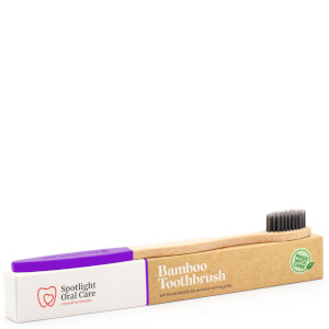 Spotlight Oral Care Bamboo Toothbrush - Purple