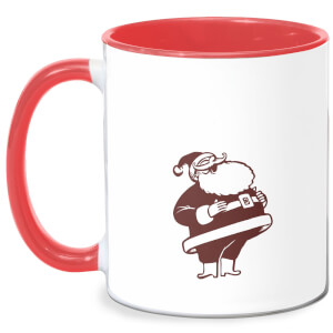 Lets Be Merry Mug - White/Red