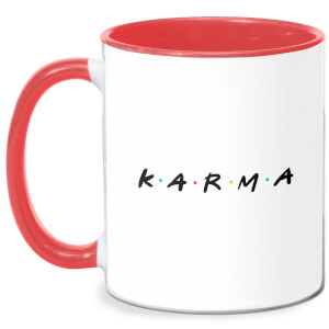 Karma Mug - White/Red