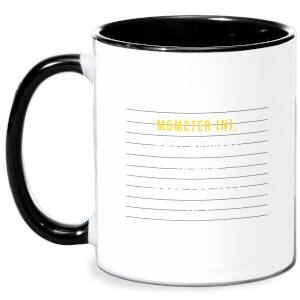 Momster Mug - White/Black