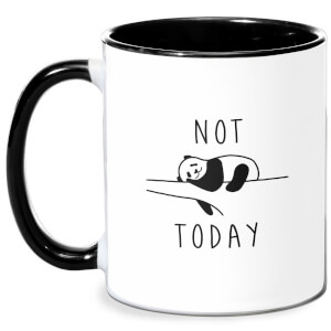 Not Today Mug - White/Black
