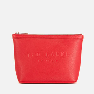 Ted Baker Women's Neevie Crosshatch Make Up Bag - Red