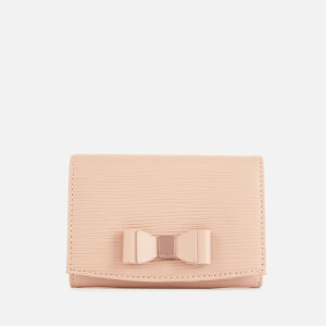 Ted Baker Women's Spriggs Bow Detail Flap Mini Purse - Taupe