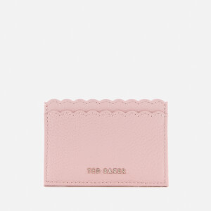Ted Baker Women's Vivaah Scalloped Credit Card Holder - Nude Pink