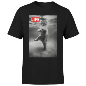 LIFE Magazine Polar Bear Men's T-Shirt - Black