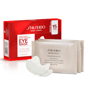 Shiseido Benefiance wrinkle resist Eye Mask Trio