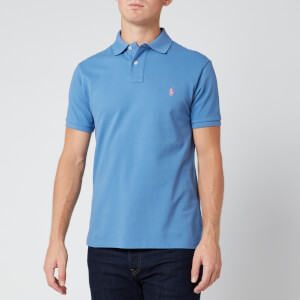 Polo Ralph Lauren Men's Slim Fit Mesh Polo Shirt - French Blue