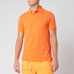 Polo Ralph Lauren Men's Slim Fit Mesh Polo Shirt - Orange Flash