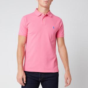 Polo Ralph Lauren Men's Slim Fit Mesh Polo Shirt - Pink
