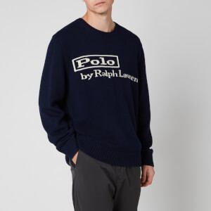 Polo Ralph Lauren Men's Polo Jumper - Hunter Navy
