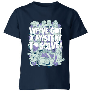 We've Got A Mystery To Solve! Kids' T-Shirt - Navy