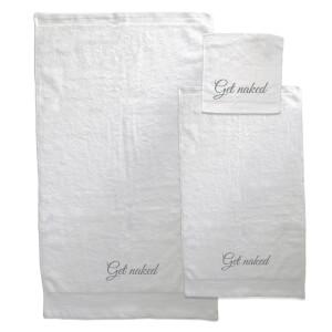 Get Naked Towel Bundle - White