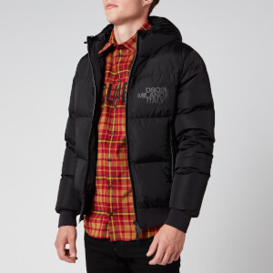 Dsquared2 Men's Hooded Puffer Jacket - Black