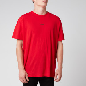 Dsquared2 Men's Missy Fit Centre Logo T-Shirt - Red