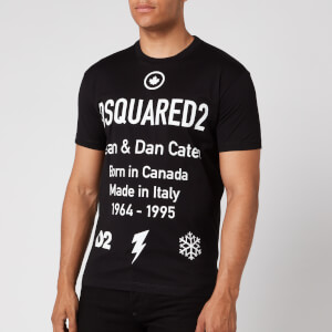 Dsquared2 Men's Cool Fit Text Logo T-Shirt - Black
