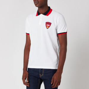 Dsquared2 Men's Tennis Fit Polo Shirt - White