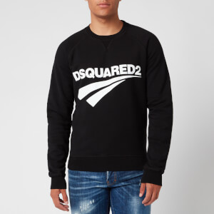 Dsquared2 Men's Raglan Fit Logo Sweatshirt - Black
