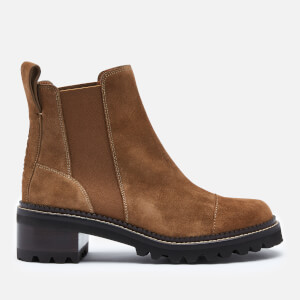 See By Chloé Women's Suede Chelsea Boots - Tan