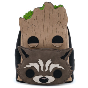 Loungefly Pop By Marvel Groot And Rocket Mini Backpack