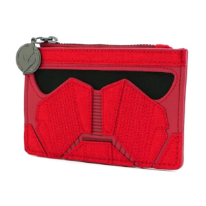 Loungefly Star Wars Ep9 Faux Leather Zip Around Purse