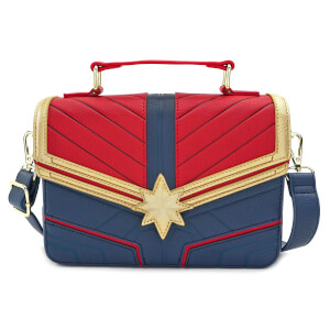 Loungefly Sac à Bandoulière Captain Marvel