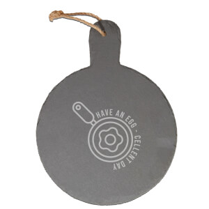 Have An Egg - Cellent Day Engraved Slate Cheese Board