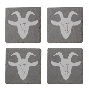 Aries Engraved Slate Coaster Set from I Want One Of Those