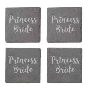 Princess Bride Engraved Slate Coaster Set