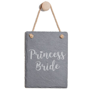 Princess Bride Engraved Slate Memo Board - Portrait