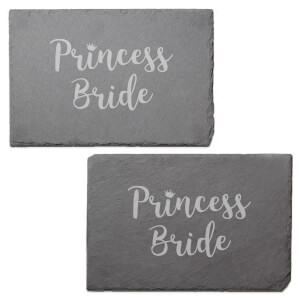 Princess Bride Engraved Slate Placemat - Set of 2