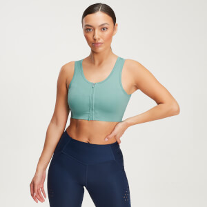 MP Women's Velocity Sculpt Sports Bra - Smoke Green