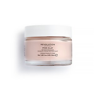 Revolution Skincare Pink Clay Detoxifying Face Mask 50ml