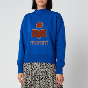Isabel Marant Étoile Women's Moby Sweatshirt - Electric Blue