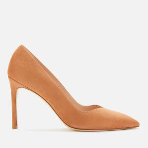Stuart Weitzman Women's Anny Suede Court Shoes - Tan