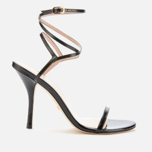 Stuart Weitzman Women's Merinda Patent Heeled Sandals - Black