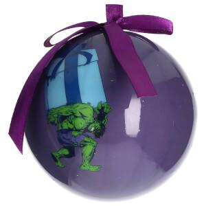 Marvel Christmas Bauble - Hulk Gift