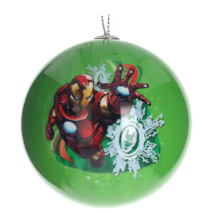 Marvel Christmas Bauble - Iron Man Seasons