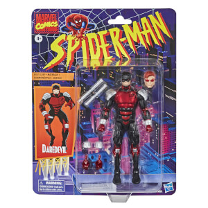 Hasbro Marvel Legends Retro Collection Spider-Man Daredevil 6-Inch Scale Action Figure