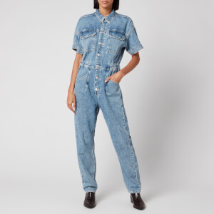 Free People Women's Marci Jumpsuit - Blue