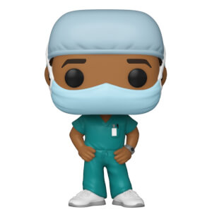 Pop! Heroes Front Line Worker Male 2 Funko Pop! Vinyl