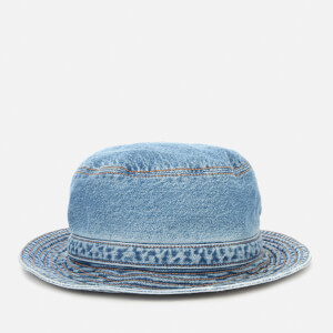 Ganni Women's Denim Bucket Hat - Washed Indigo
