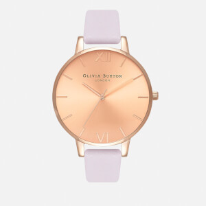 Olivia Burton Women's Sunray Dial Watch - Blossom/Rose Gold