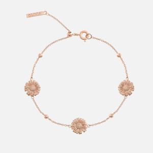 Olivia Burton Women's Daisy Chain Bracelet - Rose Gold