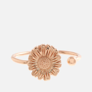 Olivia Burton Women's Daisy Open Ended Ring - Rose Gold