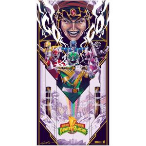 Power Rangers 12x24 inch Giclee By Jaren Hemphill