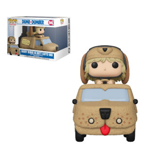 Dumb & Dumber Harry with Mutts Cutts Van Funko Pop! Ride