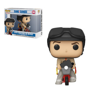 Dumb & Dumber Lloyd with Bicycle Funko Pop! Ride