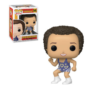 Tanzende Richard Simmons Pop! Vinyl Figur